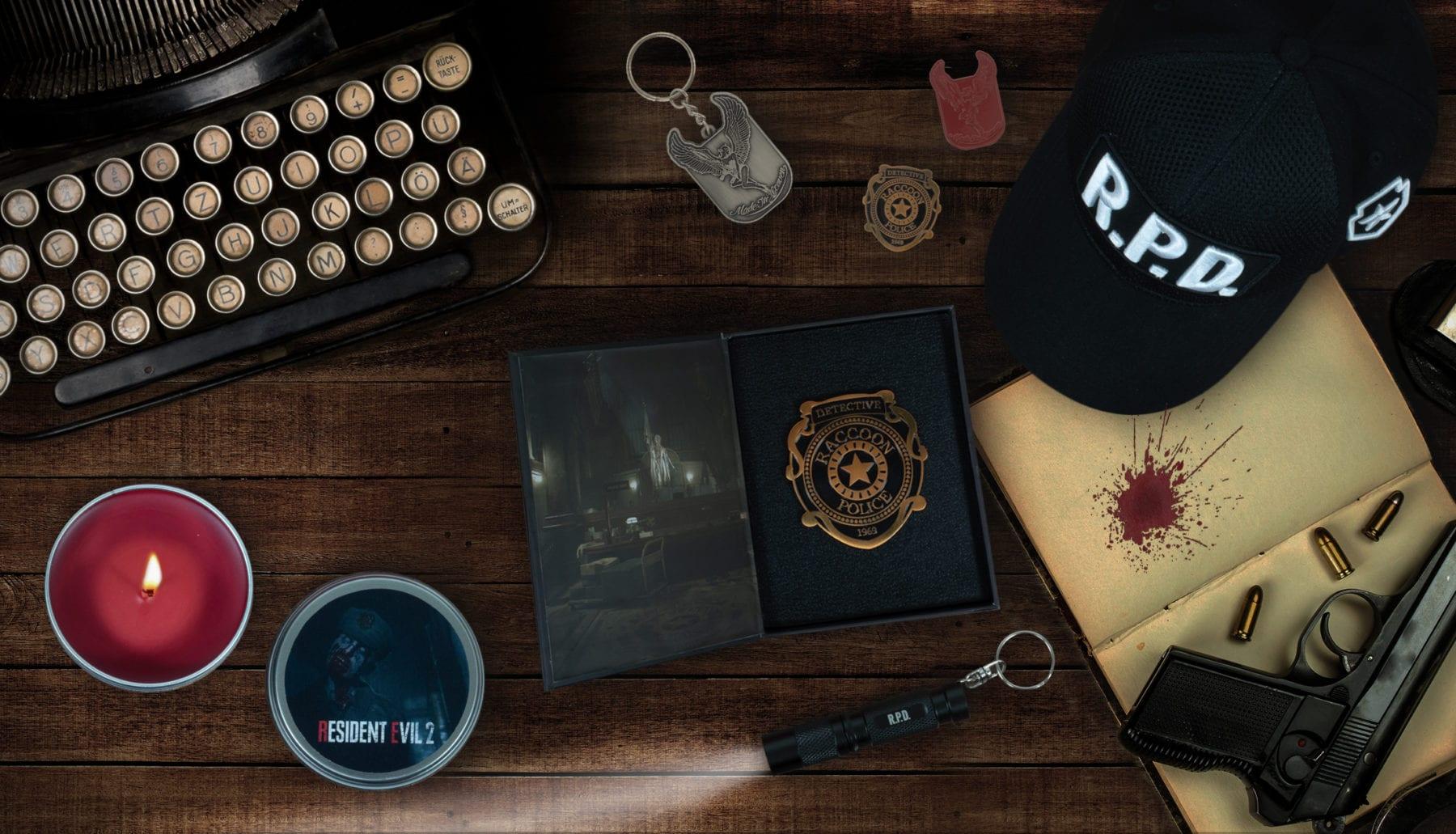 Se revela la gama oficial de mercancías de Resident Evil 2