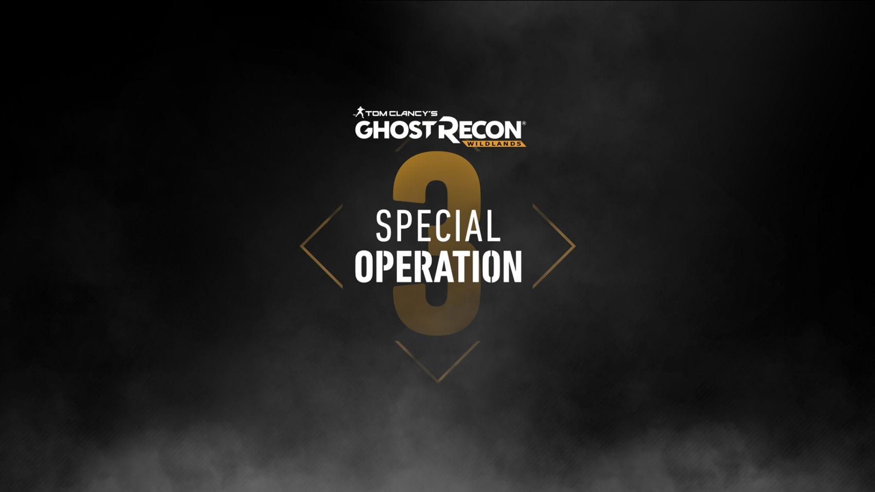La tercera actualización importante llega para Tom Clancy's Ghost Recon: Wildlands la próxima semana