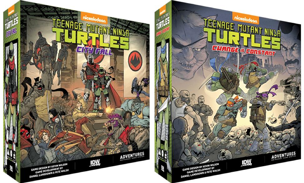IDW Games anuncia el juego de mesa Teenage Mutant Ninja Turtles Adventures