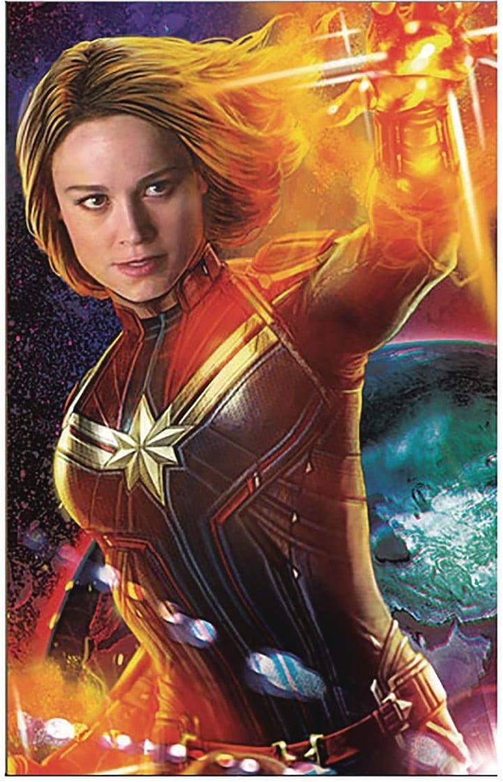 Captain Marvel recibe dos nuevos pósters promocionales