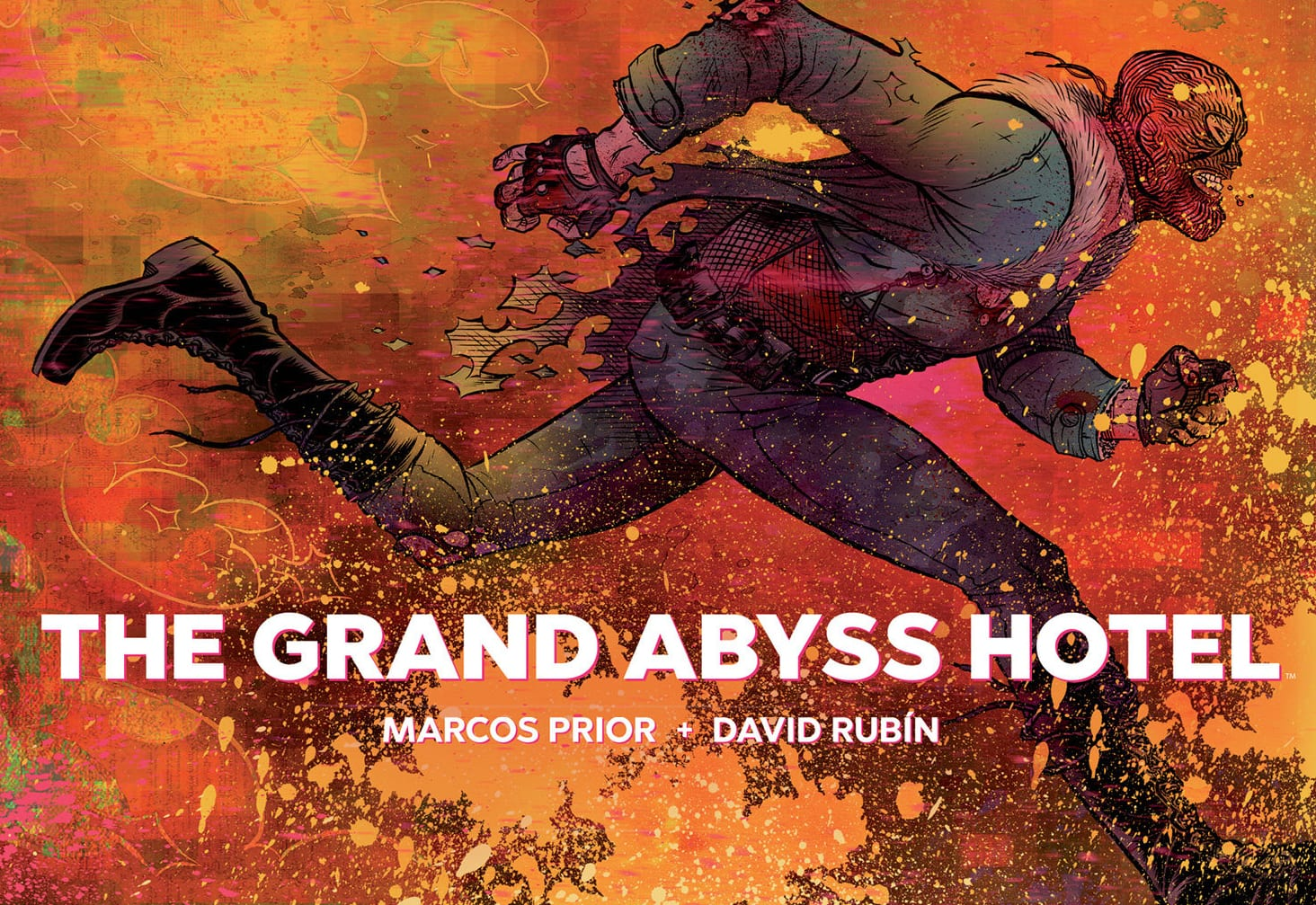¡Auge!  anuncia la novela gráfica de The Grand Abyss Hotel