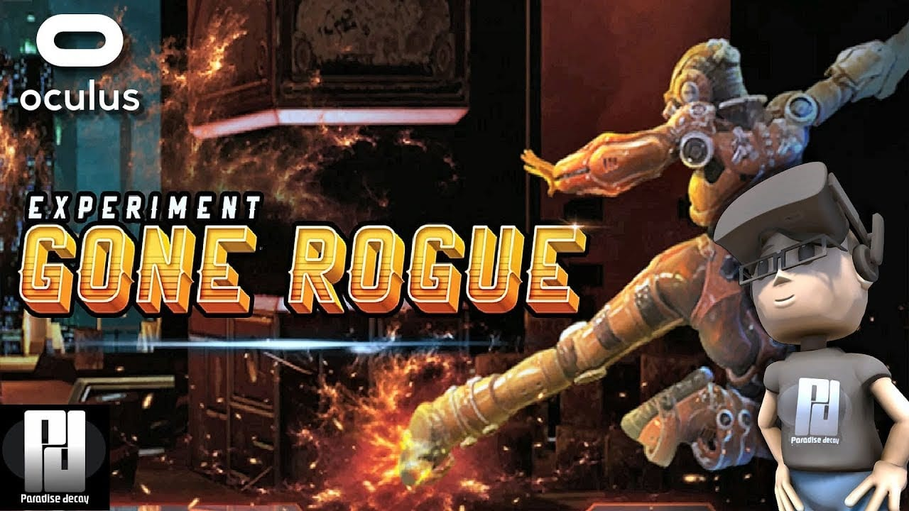 El juego Indie VR Experiment Gone Rogue llega a Steam Early Access