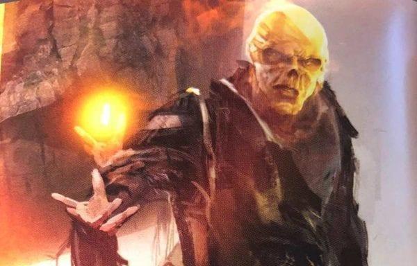 Se revela el diseño original de Avengers: Infinity War de Red Skull