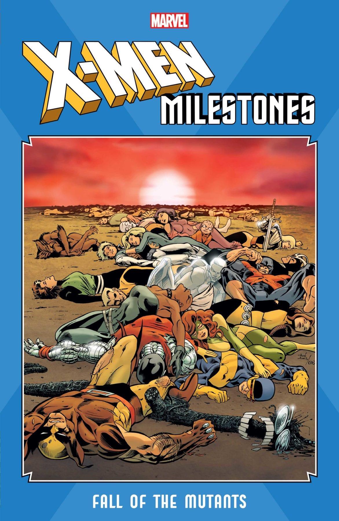 Marvel anuncia la colección X-Men Milestones