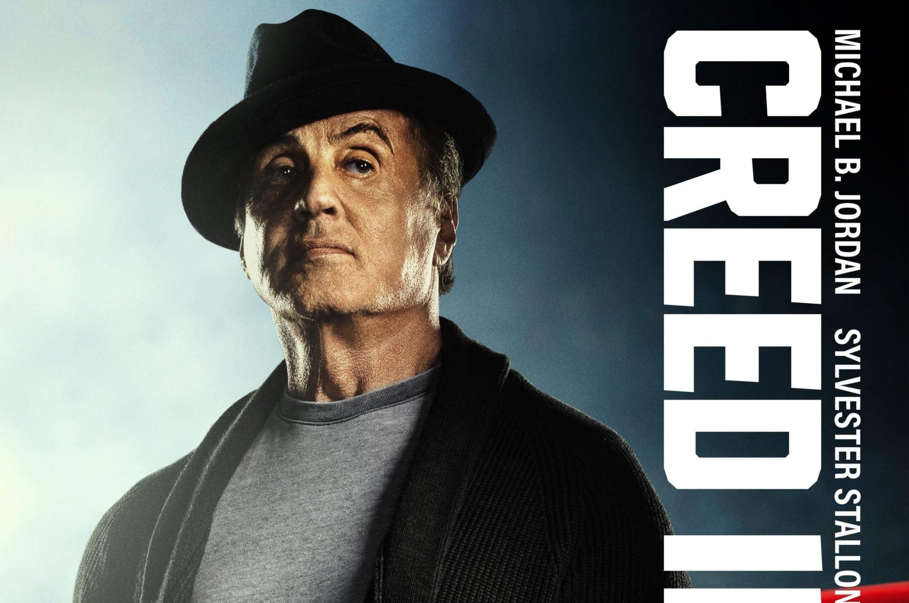 Sylvester Stallone en la repetición del papel de Rocky para Creed II y pasando la antorcha a Michael B. Jordan
