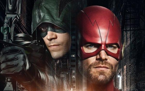 Grant Gustin y Stephen Amell sobre el intercambio de identidades de superhéroes para el crossover de DC 'Elseworlds'