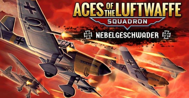 Ases del Escuadrón de la Luftwaffe - El DLC Nebelgeschwader ya está disponible
