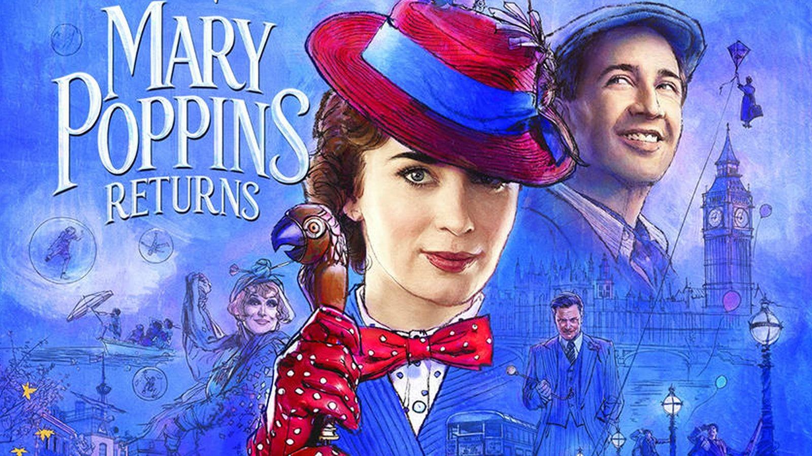 Emily Blunt dice que bailar fue su mayor desafío en Mary Poppins Returns