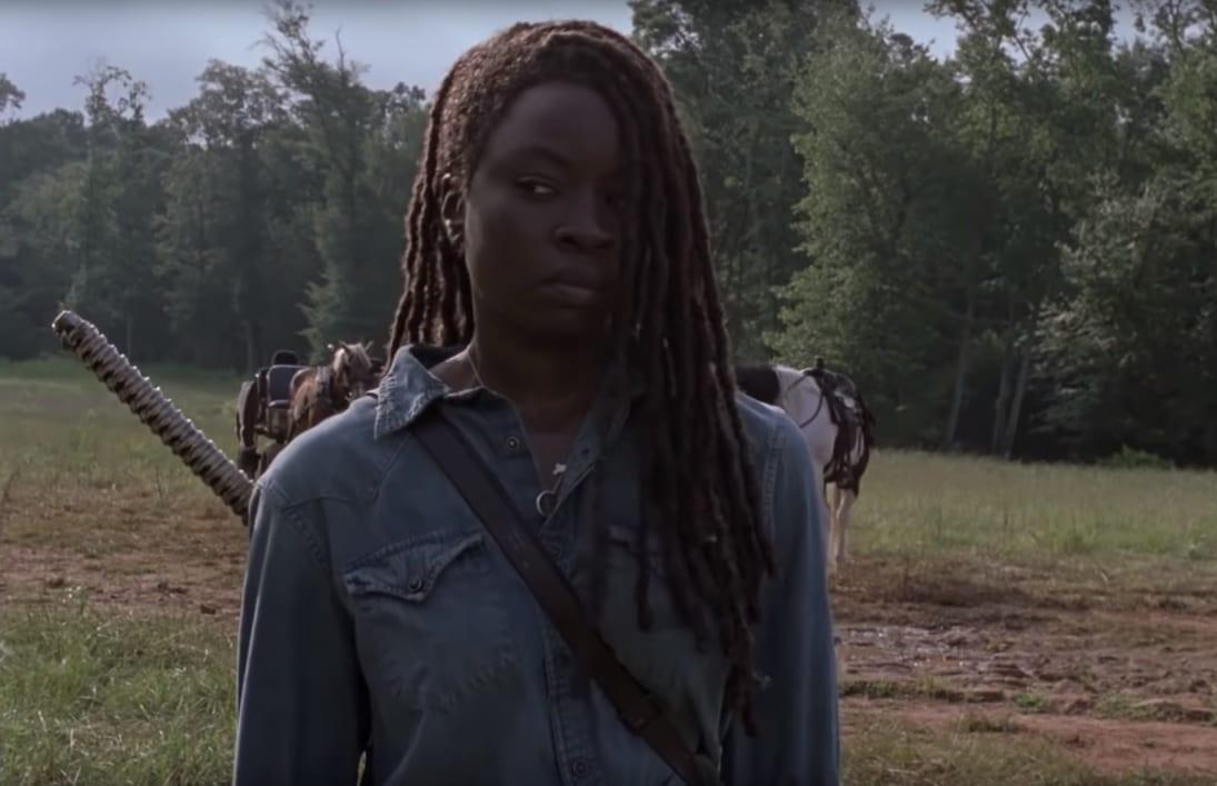 El showrunner de The Walking Dead comenta quién es Michonne después del salto de tiempo