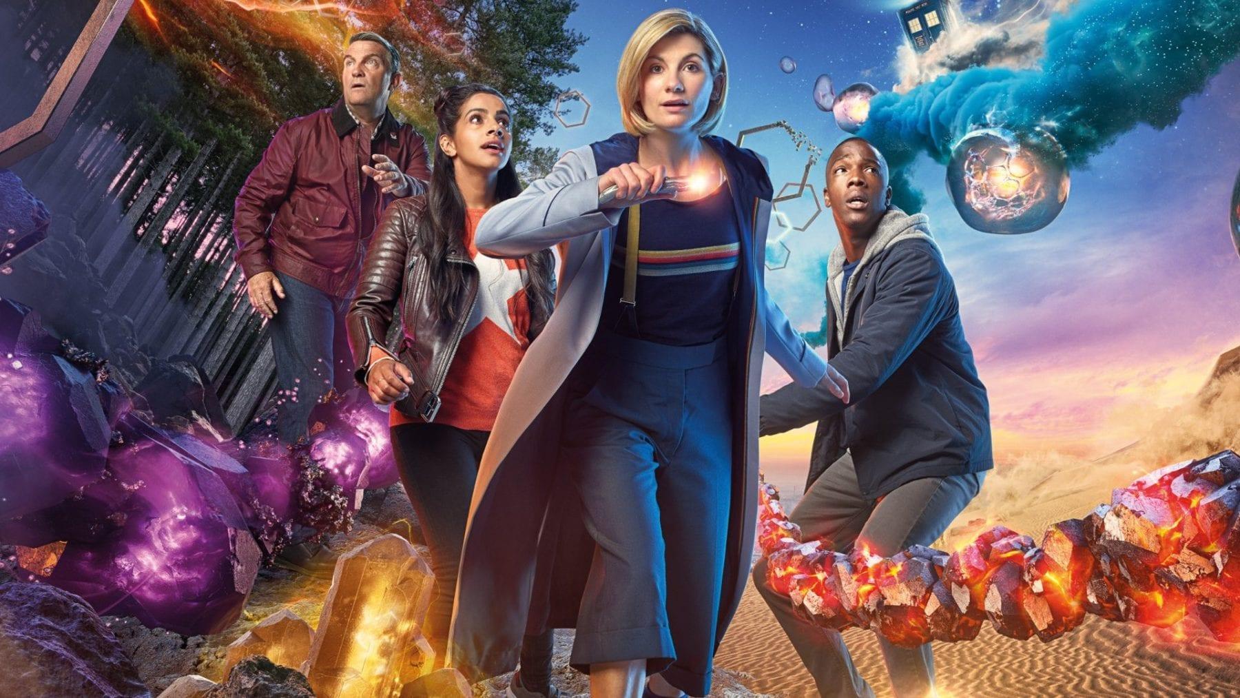 Exclusivo: Jodie Whittaker, de Doctor Who, sobre trabajar con Bradley Walsh, Tosin Cole y Mandip Gill