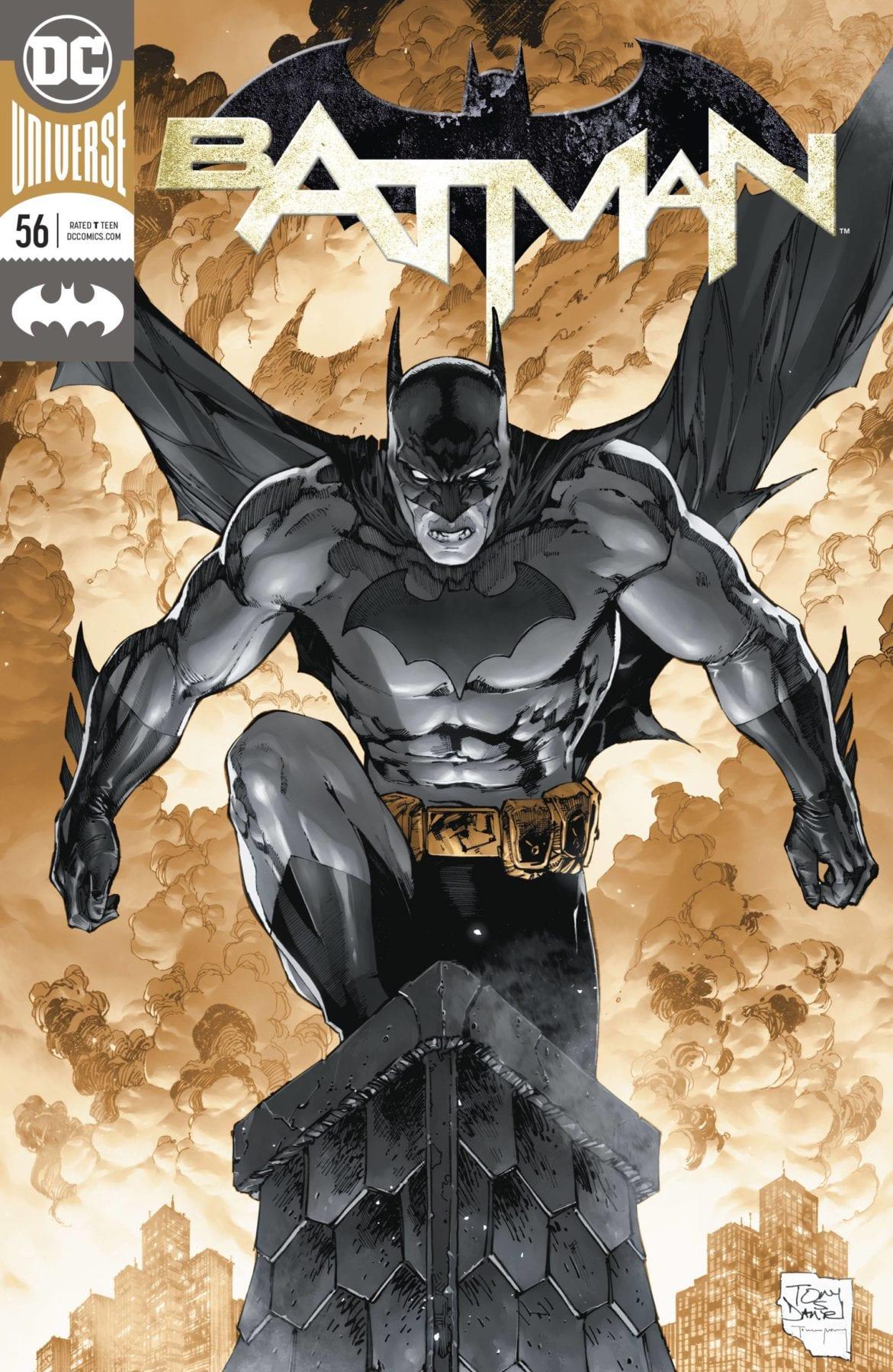 Batman encabeza los cómics y novelas gráficas más vendidos de octubre de 2018