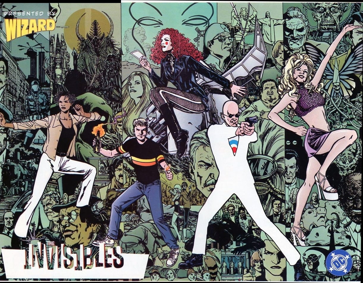 The Invisibles de Grant Morrison en desarrollo como serie de televisión
