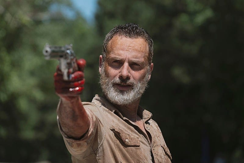 El productor de The Walking Dead explica el destino de Rick