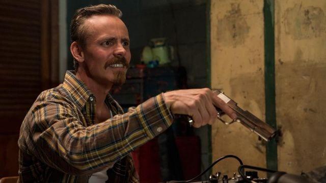 Exclusivo: el actor de BlacKkKlansman, Paul Walter Hauser, en una audición inicial para el papel de Jasper Pääkkönen, encontrando a su personaje una hora antes de disparar
