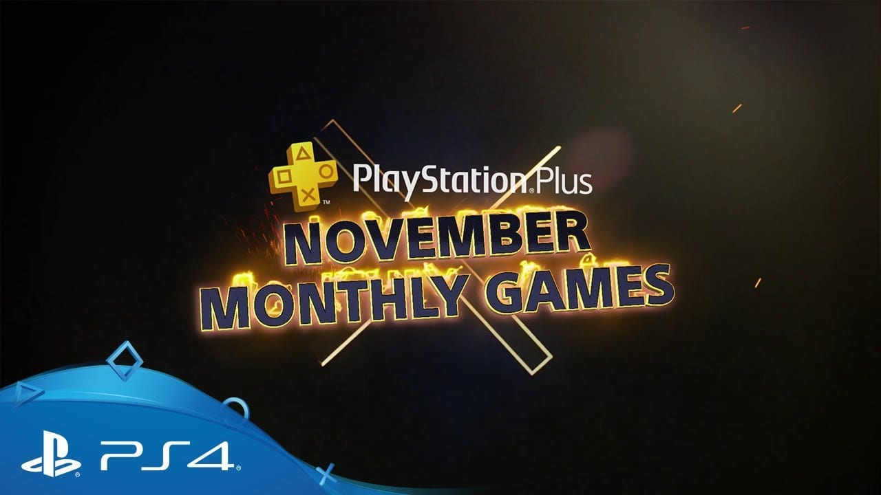 Se anuncian los juegos gratuitos de PlayStation Plus de noviembre