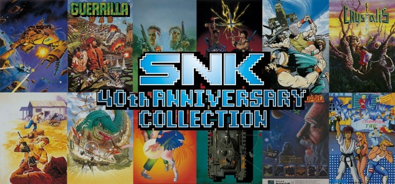 Últimos seis títulos DLC anunciados para la colección SNK 40th Anniversary en Nintendo Switch