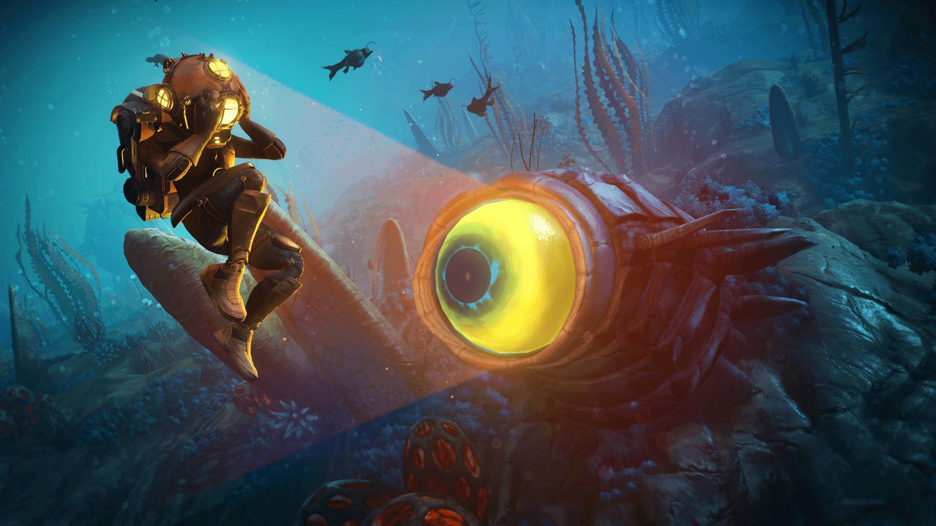 La actualización Abyss lleva a los jugadores a nuevas profundidades en No Man's Sky