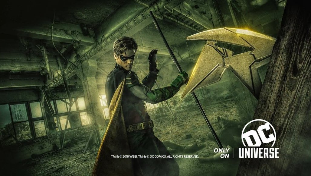 ¿Revelado el actor de Batman de los Titanes?