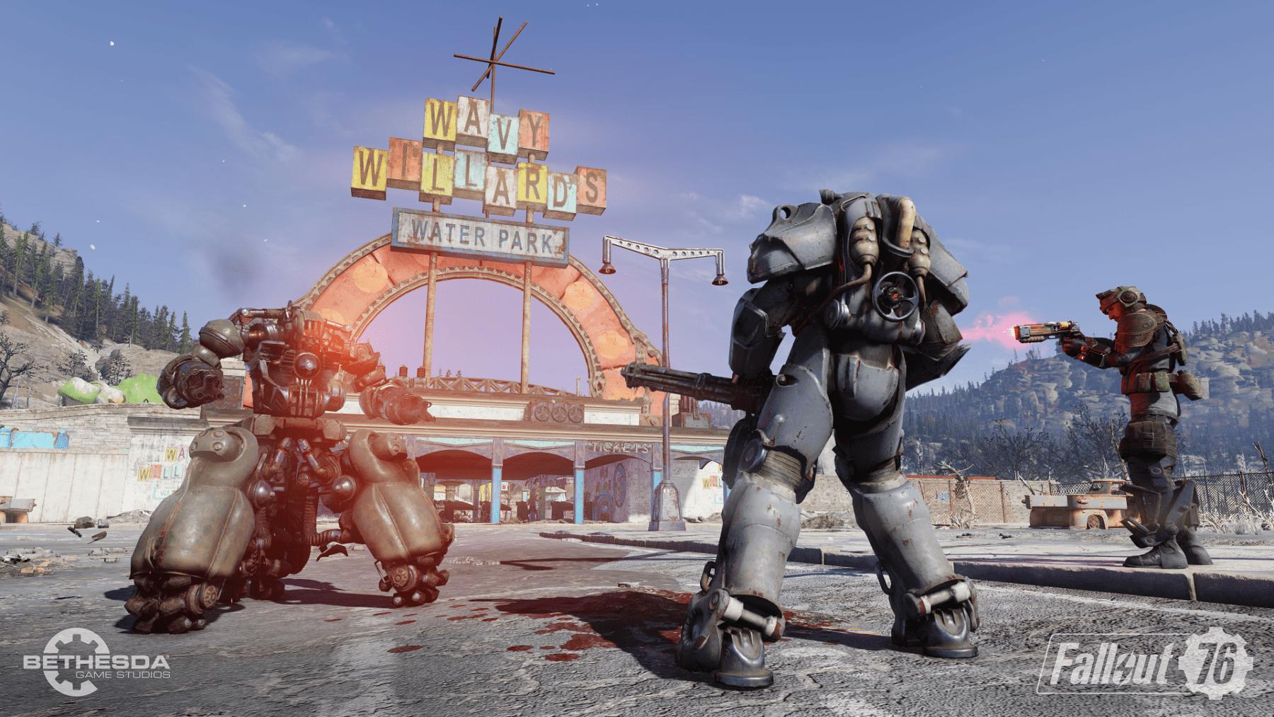 Nuevas capturas de pantalla reveladas para Fallout 76