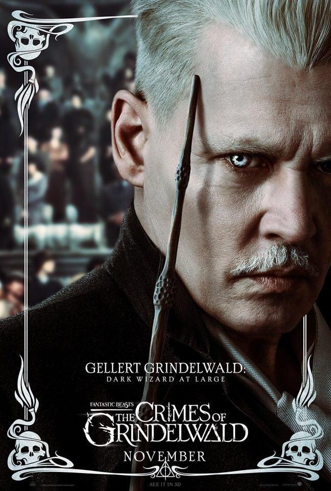 Johnny Depp se siente mal por JK Rowling por la reacción violenta a su casting de Animales fantásticos