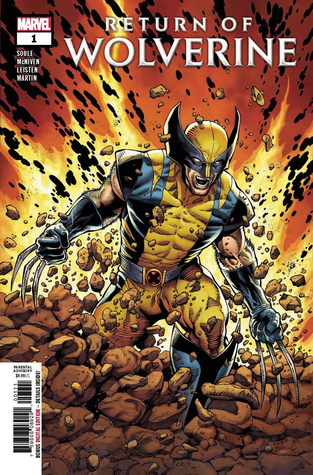 El regreso de Wolverine y Saga lideran cómics y novelas gráficas de octubre de 2018
