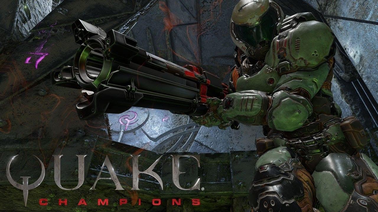 La actualización de octubre de Quake Champions ya está disponible