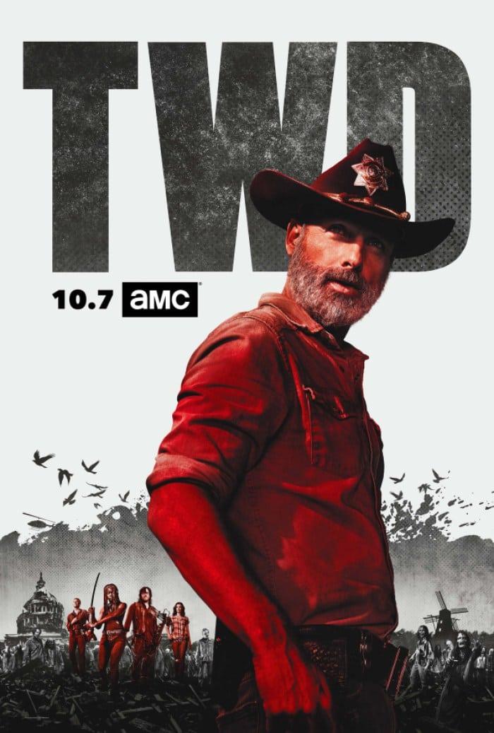 Las calificaciones de estreno de la temporada 9 de The Walking Dead cayeron casi un 50% en la temporada 8