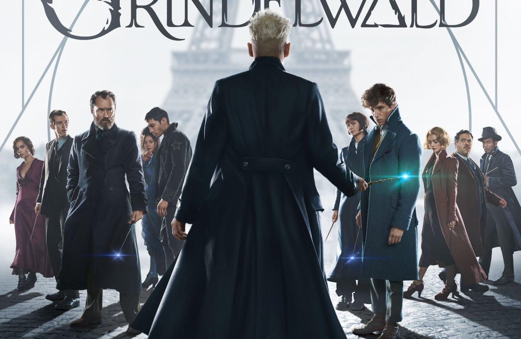El póster Fantastic Beasts: The Crimes of Grindelwald pone al Mago Oscuro de Johnny Depp al frente y al centro