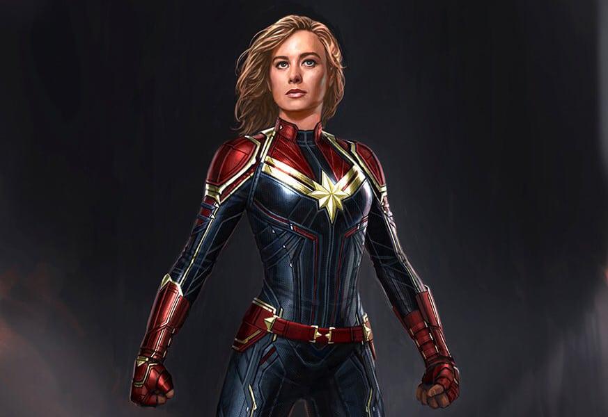 Marvel lanza oficialmente el arte conceptual del Capitán Marvel
