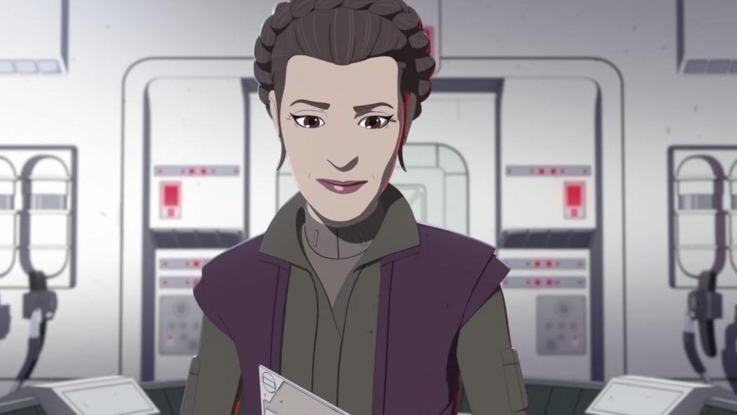 Disney se enfrenta a las llamadas para despedir a la actriz de voz del General Leia de Star Wars Resistance después de la burla de Christine Blasey Ford