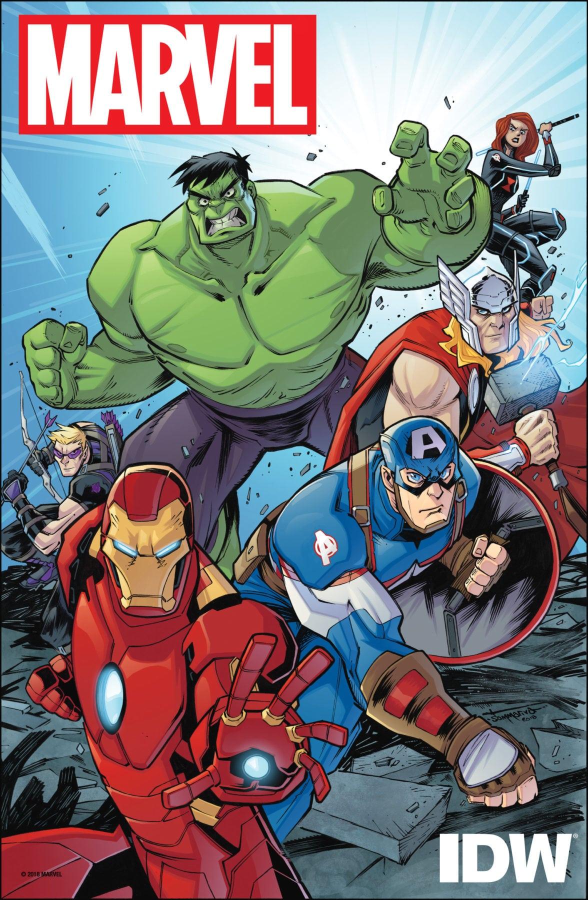 IDW anuncia equipo creativo para Marvel Action: Avengers serie de cómics para todas las edades