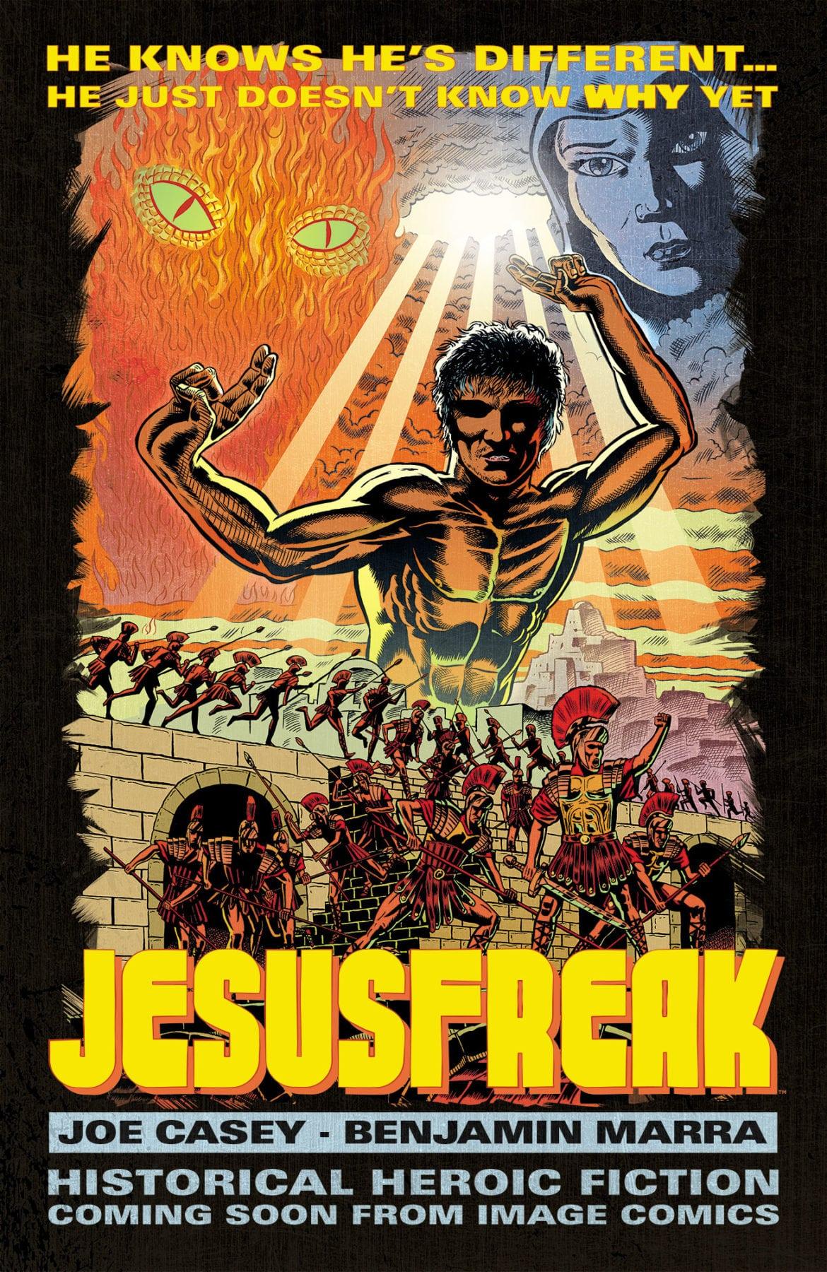 Image Comics anuncia la novela gráfica original de Jesusfreak
