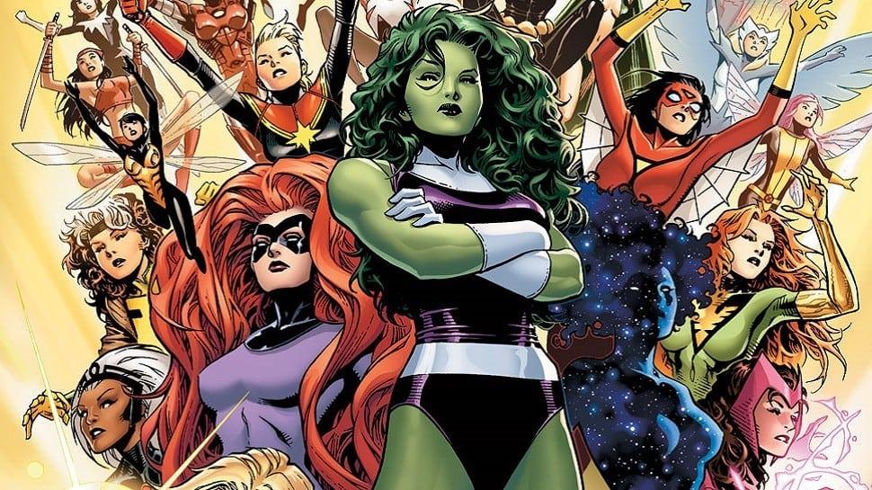 La escritora de Wonder Woman desarrolla series de equipos femeninos de superhéroes para Marvel y ABC