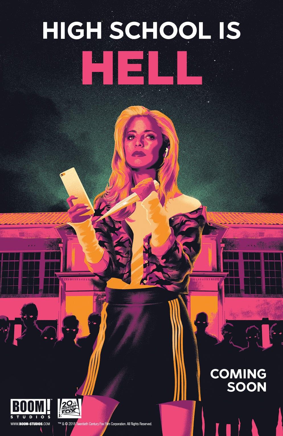 ¡Auge!  Studios adquiere la licencia de cómic Buffy the Vampire Slayer
