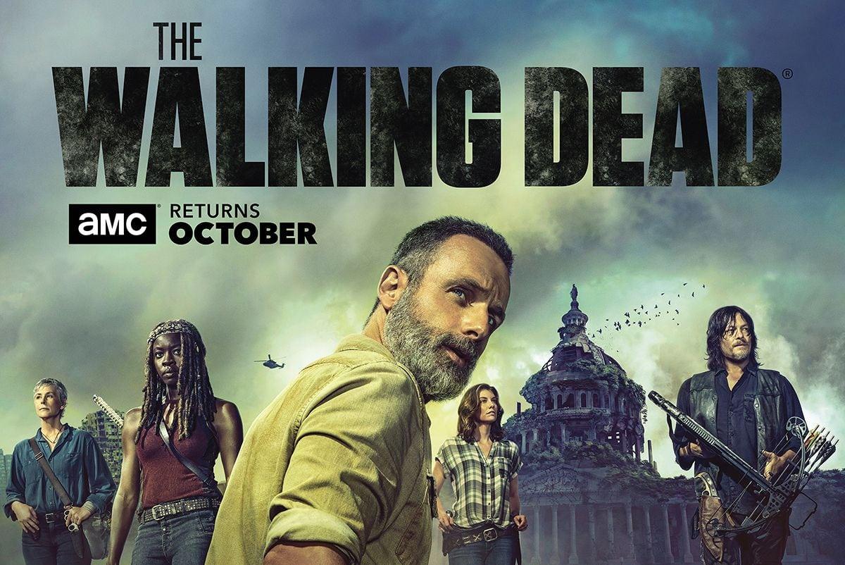 The Walking Dead tiene un plan de 10 años que podría verlo arrastrándose en la pantalla grande