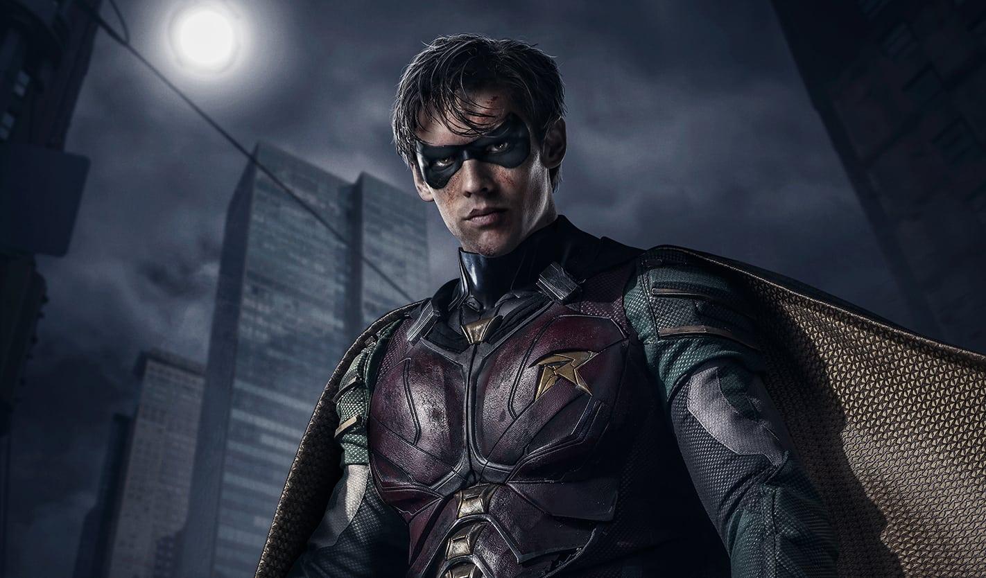 Brenton Thwaites en la línea 'f * ck Batman' del tráiler de Titans