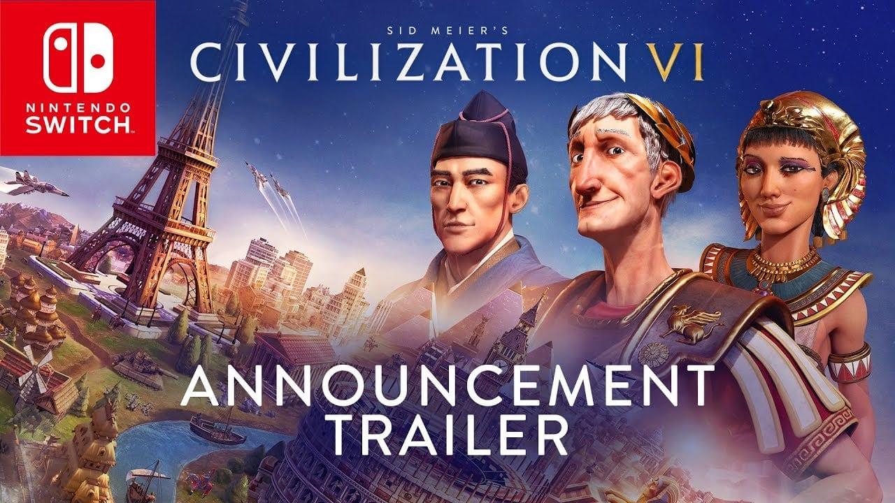 Civilization VI llegará al Nintendo Switch