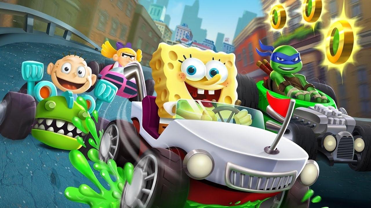 Nickelodeon Kart Racers trae SpongeBob, TMNT, Rugrats y más a las consolas