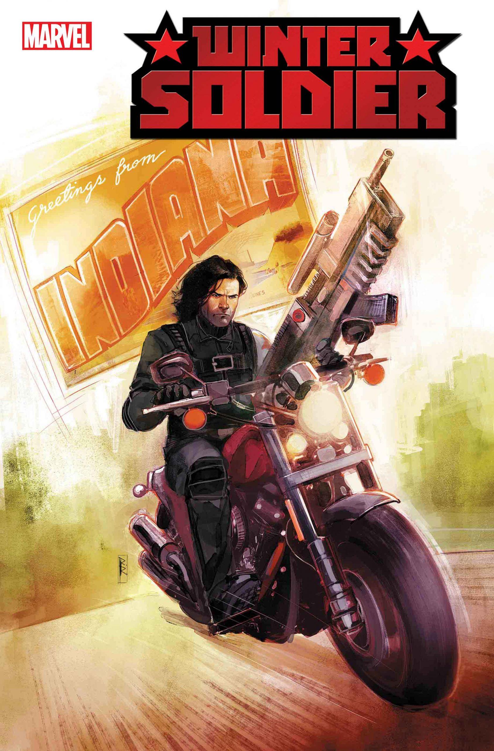 Bucky Barnes regresa en la nueva serie Winter Soldier