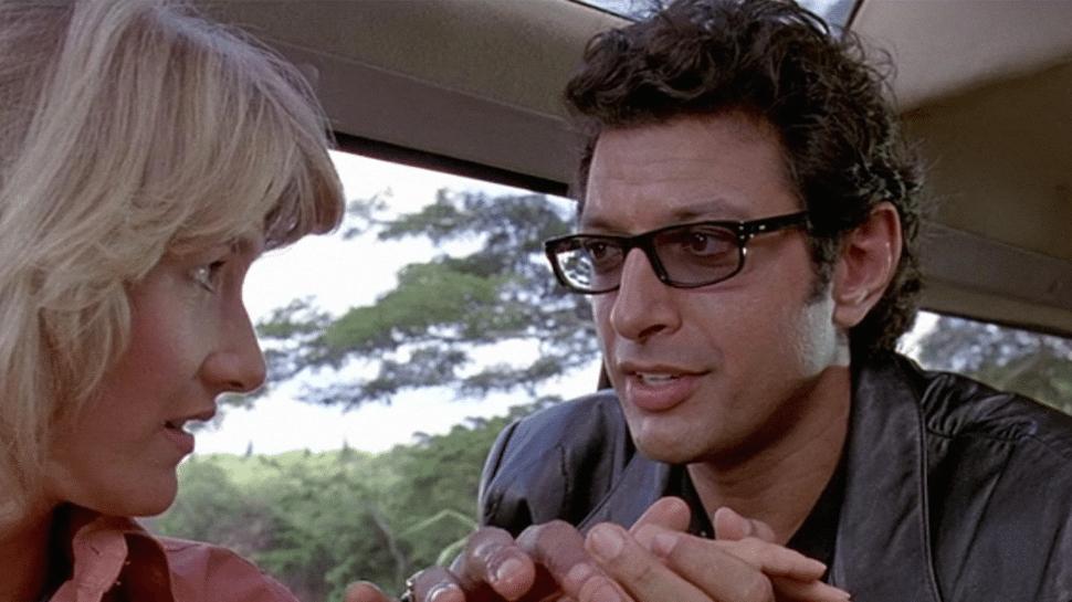 Jeff Goldblum fue cortado casi por completo de Jurassic Park