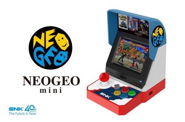 NEOGEO Mini ahora disponible para pre-pedido