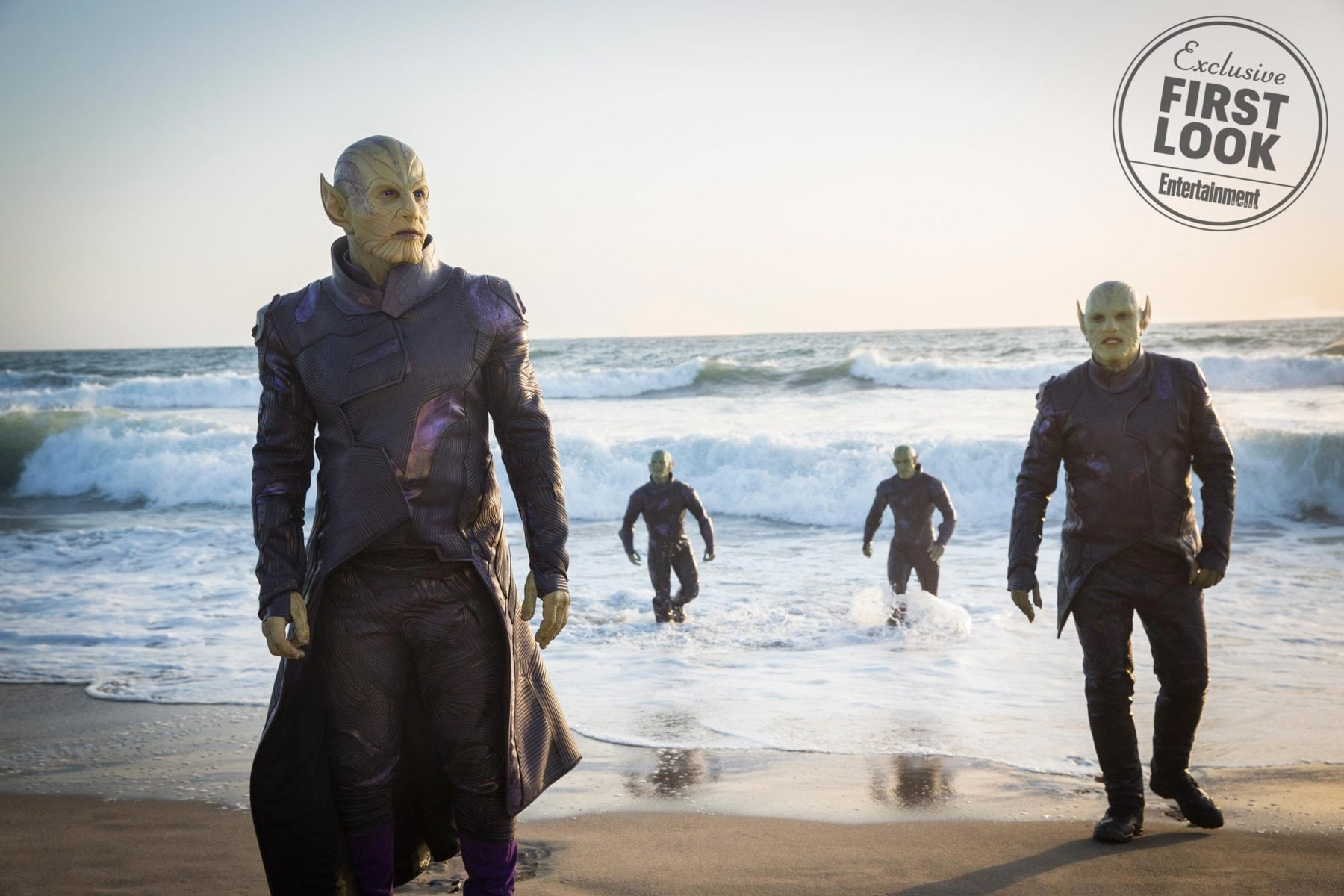 Ben Mendelsohn habla sobre su papel de Skrull en Captain Marvel