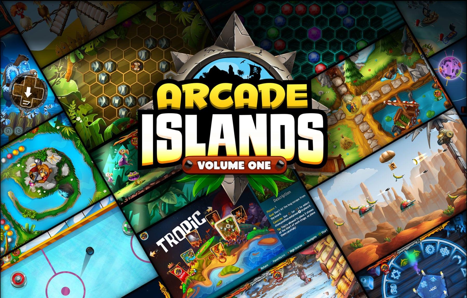 Arcade Islands: Volume One ahora disponible en Xbox One y PS4