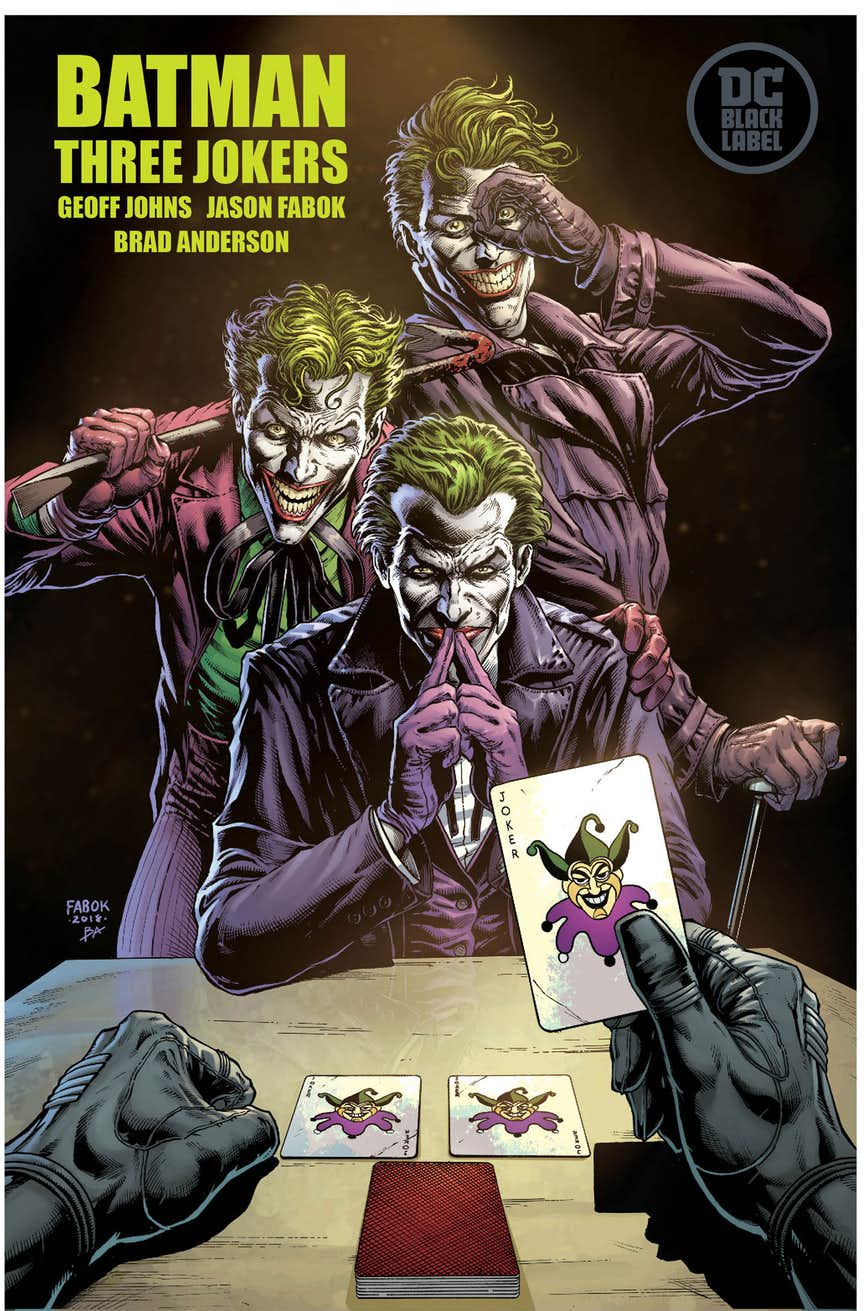 Fan Expo 2018: DC Nation destaca Three Jokers, Heroes in Crisis, The Last Knight on Earth, la nueva serie Swamp Thing y más