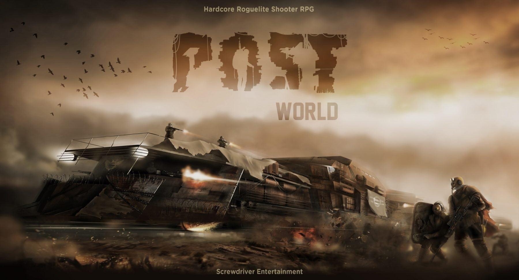 Apocalyptic RPG Postworld llega a PC este viernes