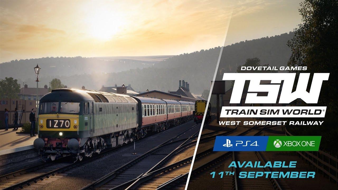 West Somerset Railway llegará a Train Sim World en consolas