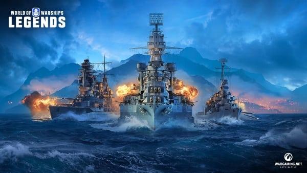 Primer trailer revelado para World of Warships: Legends