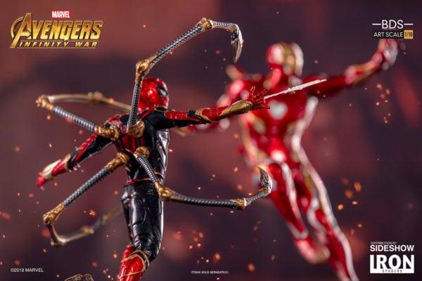 Marvel-Avengers-Infinity-War-Iron-Spider-Man-Statue-Iron-Studios-6-600x400