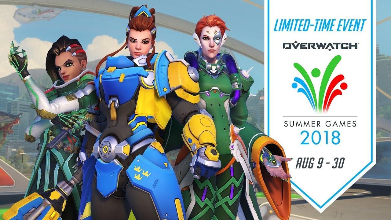 Overwatch Summer Games 2018 en pleno apogeo: ¡no te lo pierdas!