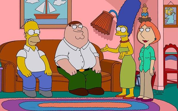 Fox desarrolla las películas de Los Simpson, Family Guy y Bob's Burgers